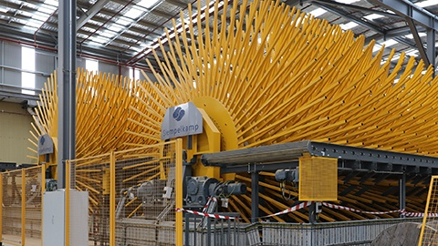Australia's Newest Continuous Particleboard Line